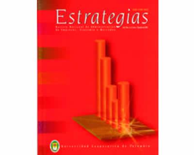 Estrategias. Revista Nacional de Administración de Empresas, Economía y Mercadeo. Nos. 5 y 6 (Año 3)