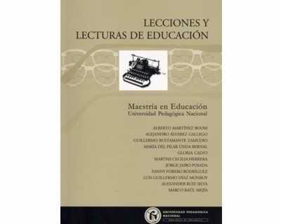 Lecciones y lecturas de educación No. 1