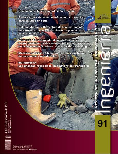 Revista de la Escuela Colombiana de Ingeniería No. 91
