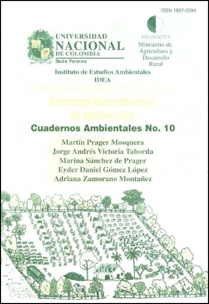 Sistemas diversificados de producción. Cuadernos ambientales No. 10