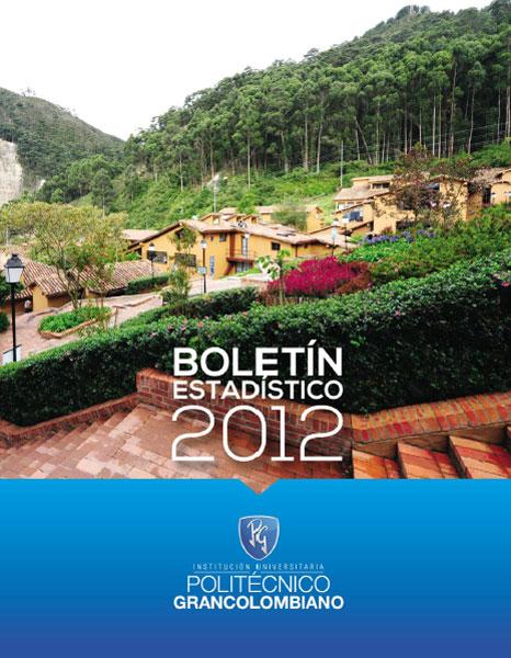 Boletín Estadístico 2012 No. 3