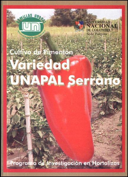 Cultivo de pímenton. Variedad UNAPAL Serrano