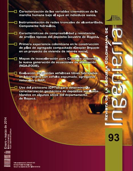 Revista de la Escuela Colombiana de Ingeniería No. 93