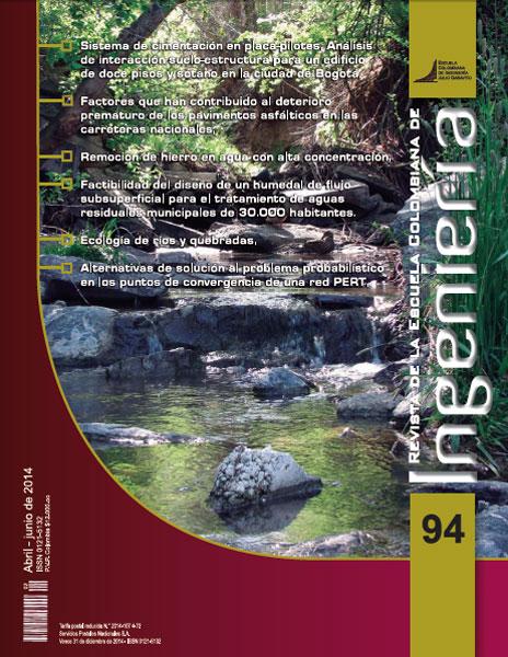 Revista de la Escuela Colombiana de Ingeniería No. 94