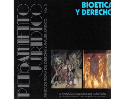 Pensamiento Jurídico No. 03. Bioética y Derecho