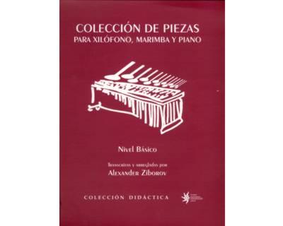 Colección de piezas para xilófono, marimba y piano. Nivel Básico
