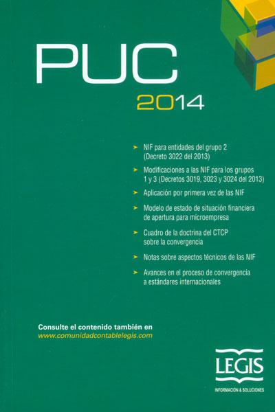 Plan Único de Cuentas para comerciantes. PUC 2014