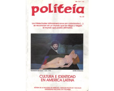Politeia No. 20. Cultura e identidad en América Latina