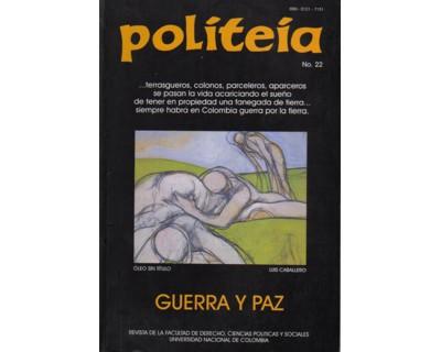 Politeia No. 22. Guerra y paz