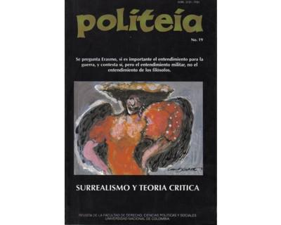Politeia No. 23-24. Psicoanálisis, arte y vida
