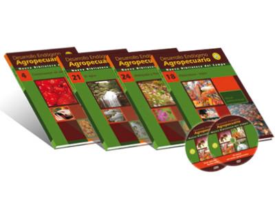 Nueva biblioteca del campo. Desarrollo endógeno agropecuario (Incluye 25 Tomos-1 DVD y 1 CD)