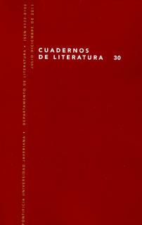 Cuadernos de Literatura No. 30
