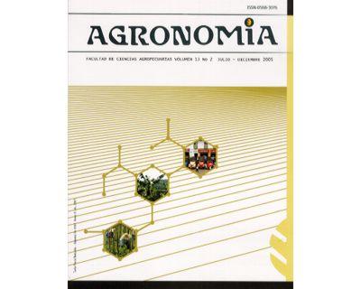 Agronomia. Vol. 13 No. 2