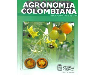 Agronomía Colombiana. Vol. 25. No.1