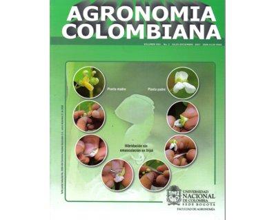 Agronomía Colombiana. Vol. 25. No. 2