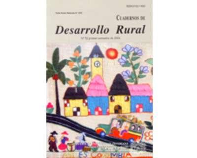 Cuadernos de Desarrollo Rural. No. 52
