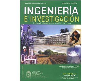 Ingeniería e Investigación Vol. 28 No. 1