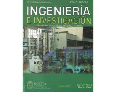 Ingeniería e Investigación Vol. 26 No. 1