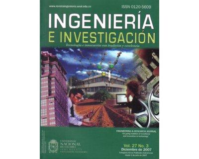 Ingeniería e Investigación Vol. 27 No. 3