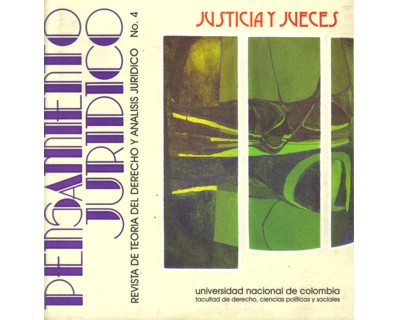 Pensamiento Jurídico No. 04. Justicia y jueces