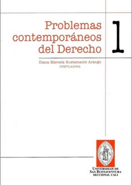 Problemas contemporáneos del derecho. 1