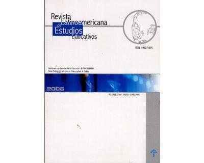 Revista Latinoamericana de Estudios Educativos. Vol. 2
