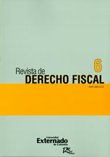 Revista de Derecho Fiscal. No. 6