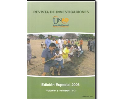 Revista de investigaciones Vol. 5 No. 1 y 2