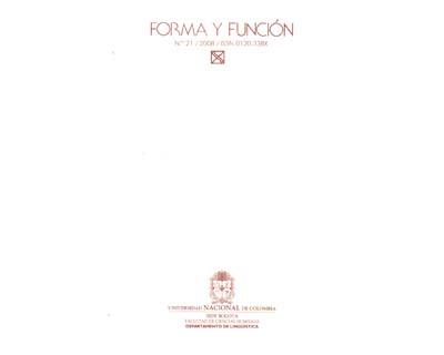 Forma y función No. 21