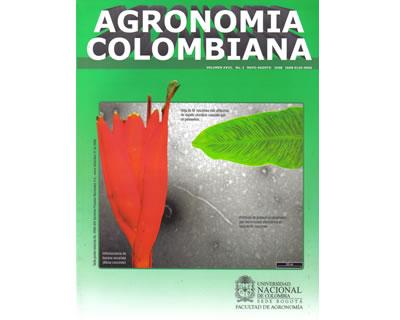 Agronomía Colombiana. Vol. 26. No. 2