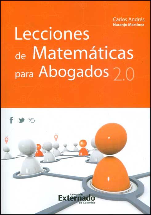 Lecciones de matemáticas para abogados 2.0