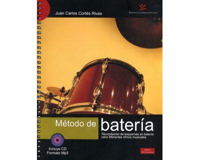 Método de batería. Recopilación de esquemas en batería para diferentes ritmos musicales. (Incluye CD Formato Mp3)