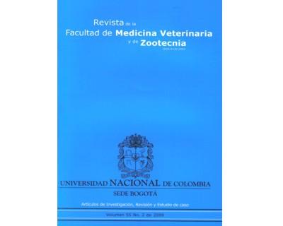 Revista de la Facultad de Medicina Veterinaria y de Zootecnia. No. 2. Vol. 55