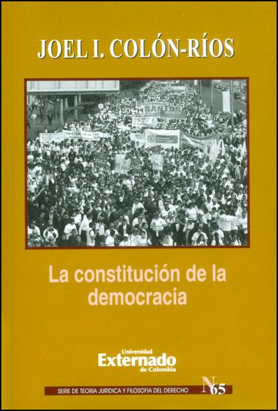 La constitución de la democracia