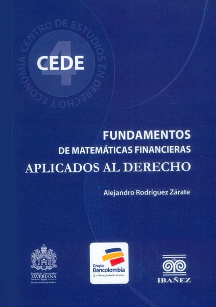 Fundamentos de matemáticas aplicadas al derecho