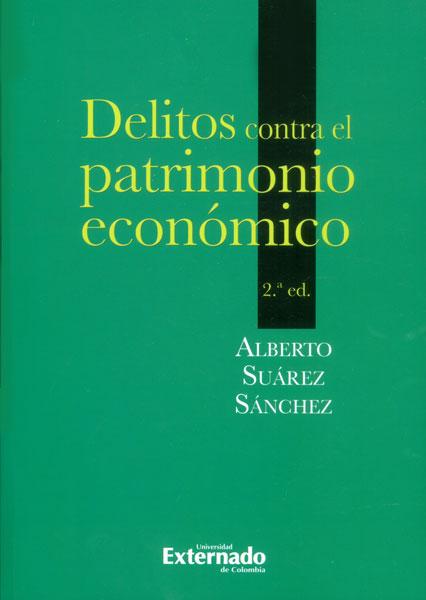 Delitos contra el patrimonio económico