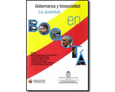 Gobernanza y biosociedad. La juventud en Bogotá