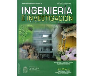Ingeniería e Investigación Vol. 29 No. 2
