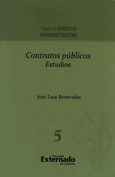 Contratos públicos. Estudios