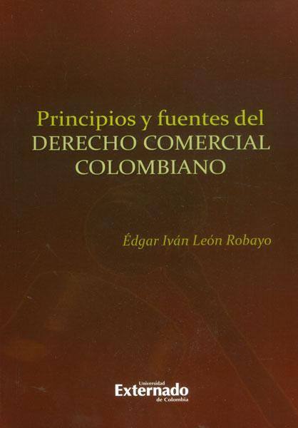 Principios y fuentes del derecho comercial colombiano
