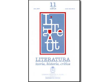 Literatura. Teoría, Historia, Crítica. No. 11