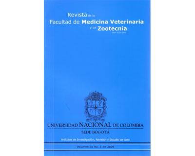 Revista de la Facultad de Medicina Veterinaria y de Zootecnia. No. 1. Vol. 56