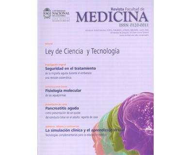 Revista Facultad de Medicina. No. 1. Vol. 57