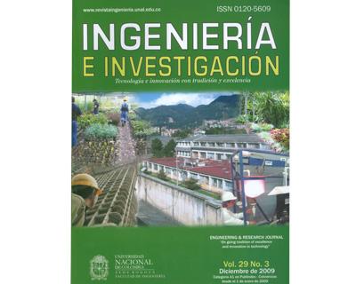 Ingeniería e Investigación Vol. 29 No. 3