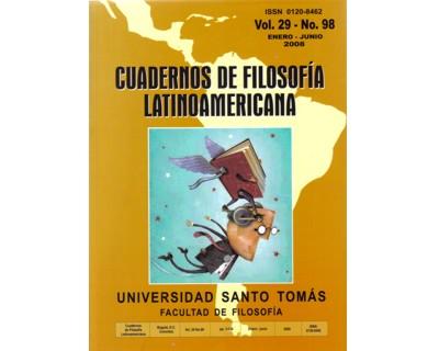 Cuadernos de Filosofía Latinoamericana. Vol. 29 No. 98