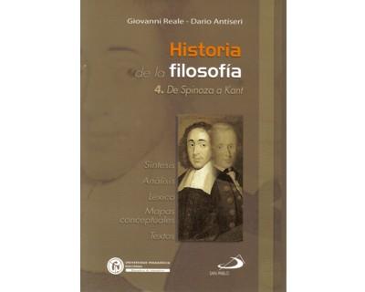Historia de la filosofía. Tomo 4. De Spinoza a Kant