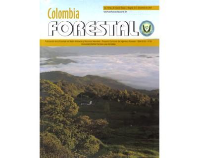 Revista Colombia Forestal Vol. 10 No. 20
