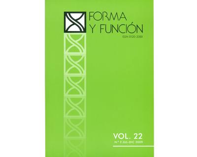 Forma y Función Vol. 22 No. 2