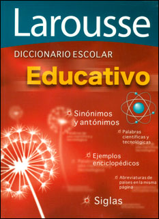 Diccionario escolar educativo