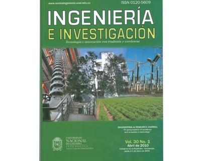 Ingeniería e Investigación Vol. 30 No. 1